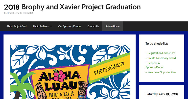 Brophy / Xavier Project Grad