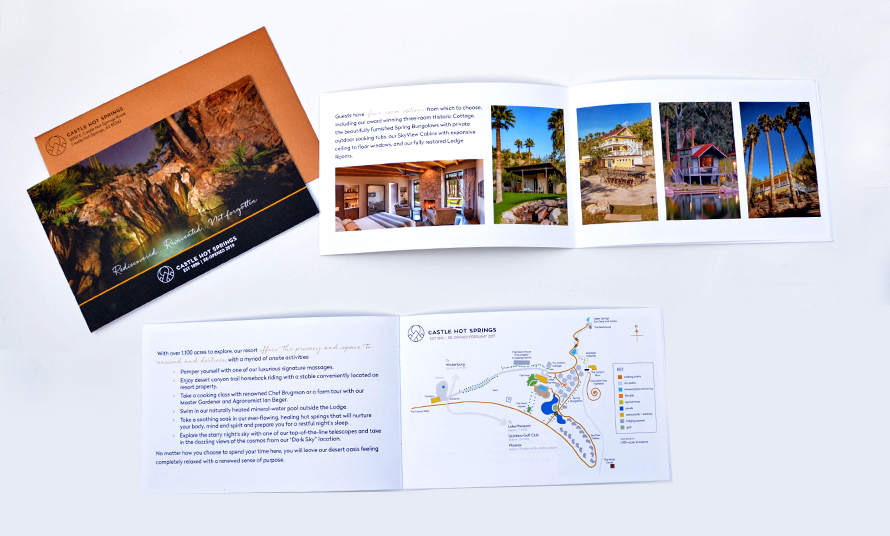 Castle Hot Springs Brochure