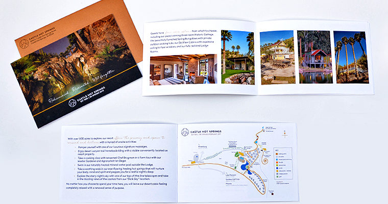 Castle Hot Springs – Brochure