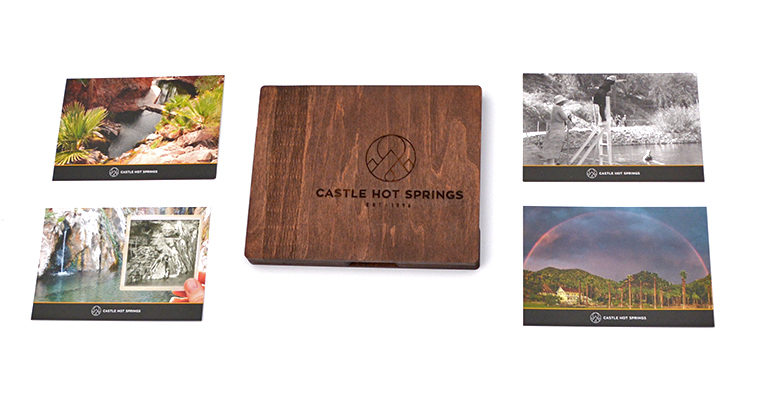 Castle Hot Springs – Postcards