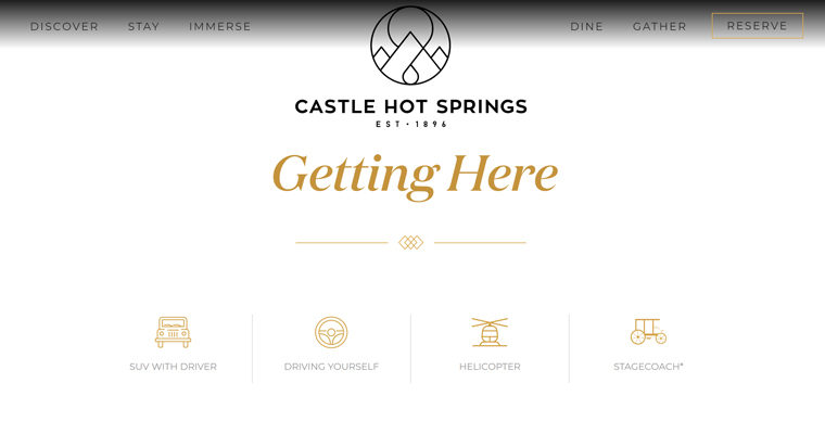 Castle Hot Springs – Web Page