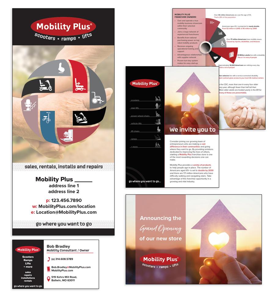 Mobility Plus Branding